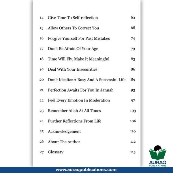 Reflections From Life by Aisha Idris - Auraq Publications