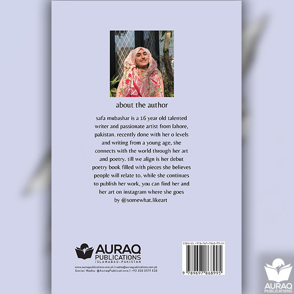 Till We Align book by Safa Mubashar