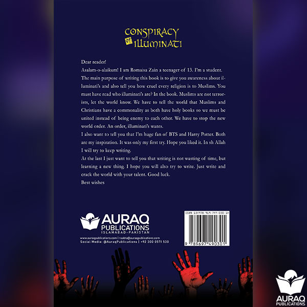 Conspiracy of Illuminati by Romaisa Zain - Back