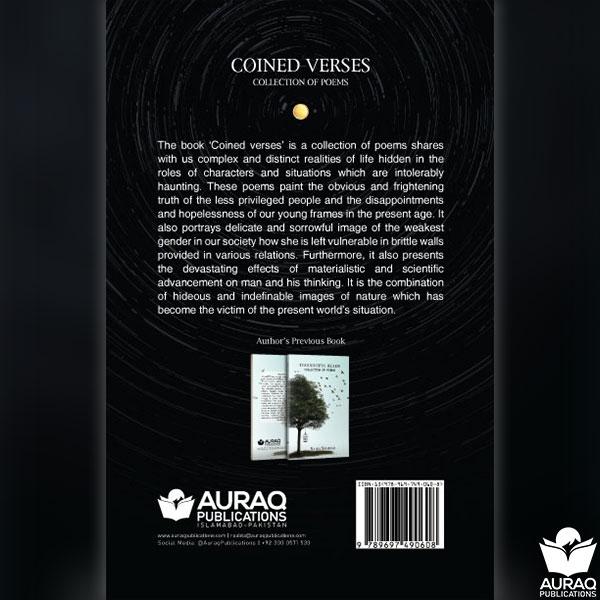 Coined Verses by Saira Shahab - Back