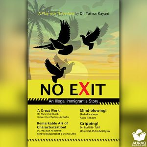 No Exit by Dr Taimoor Kayani - Front Cover