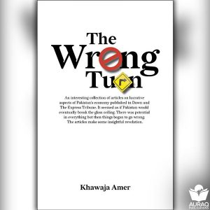 The wrong Turn by Khwaja Amer - Front