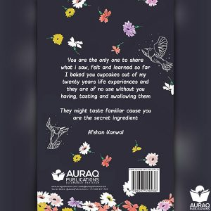 An Aesthetic Aroma of Life And Thoughts by Afshan Kanwal - Back Cover
