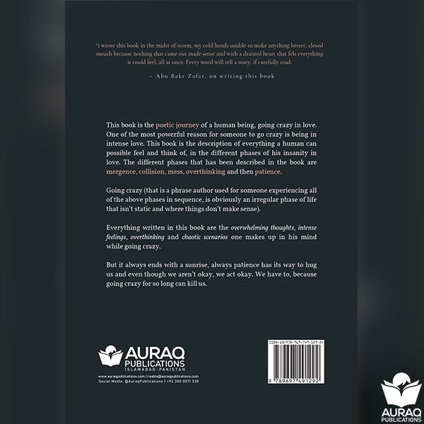 I have been going crazy by Abubakr Zafar - Back