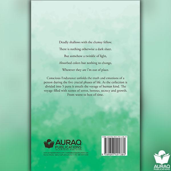 Concious Endurance by Khadeja Shuja Ashrafi - Back